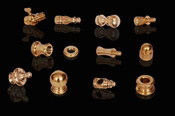 brass lamp parts india